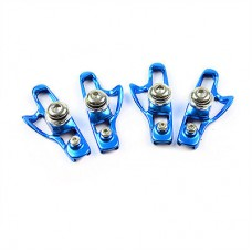 AICAN Ultralight Anode Road Bike C-Brake Shoes - Blue