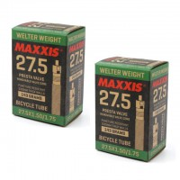 Maxxis Welter Weight 27.5x1.50/1.75 30mm Presta Valve Inner Tubes (2-pieces)